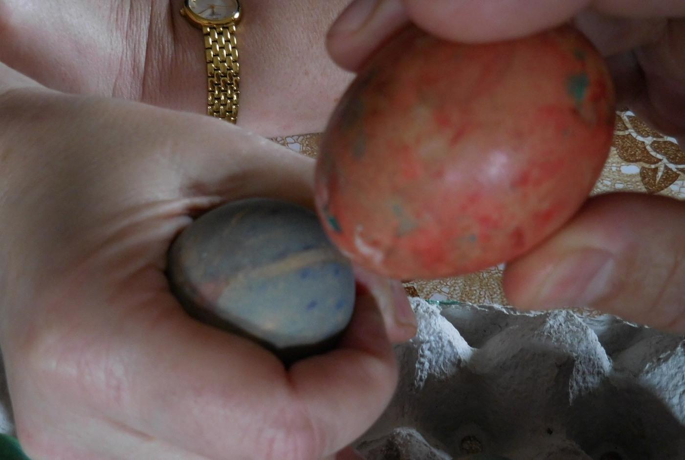 Orthodox Easter, Colourful Eggs, Battle, Bulgaria