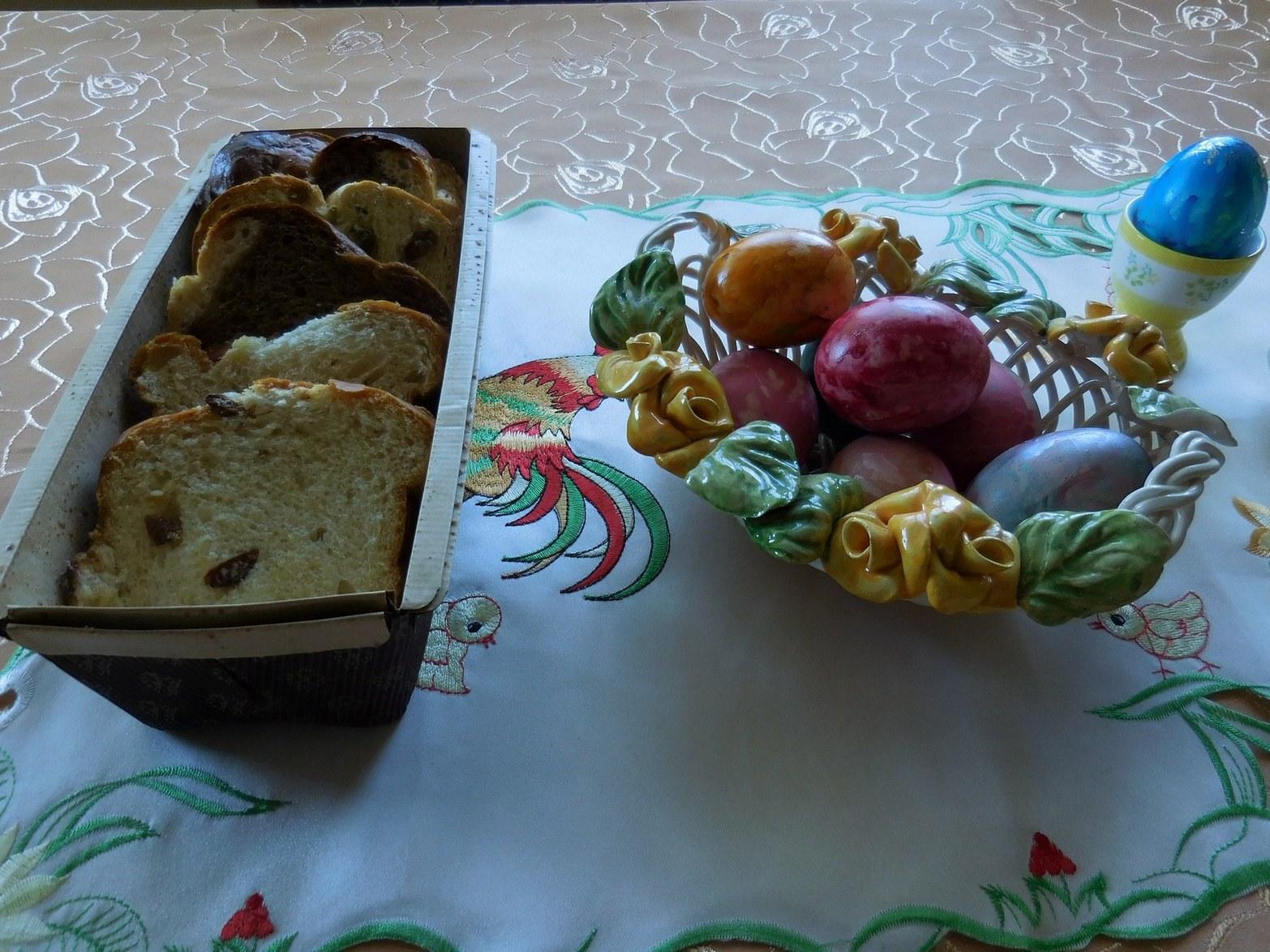 Easter, Colourful Eggs, Bulgaria, Orthodox, Featured Image, Table