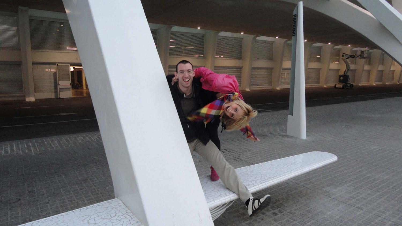 Valencia, Spain, Ciudad de las Artes y las Ciencias, Svet and Paulina, Crazy Friends