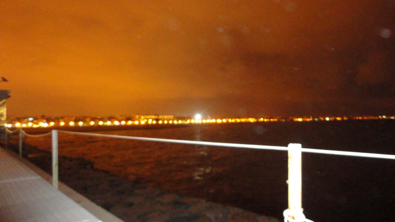 Valencia, Spain, Ciudad de las Artes y las Ciencias, Valencia Port, Blurry Image