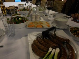 Villa Vuchev, Velingrad, Spa Capital of the Balkans, Lunch and Dinner Menu 1, Bulgaria