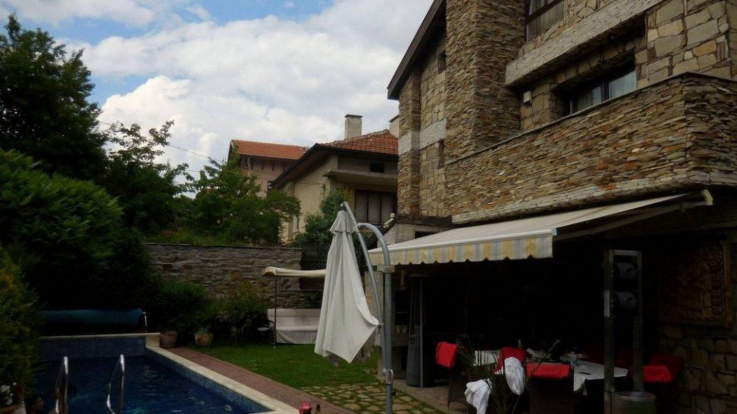 Villa Vuchev, Velingrad, Spa Capital of the Balkans, Bulgaria, Pool View, Featured Image