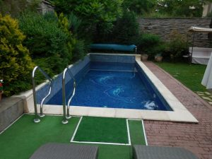 Villa Vuchev, Velingrad, Spa Capital of the Balkans, Hot Mineral Water Pool 2, Bulgaria