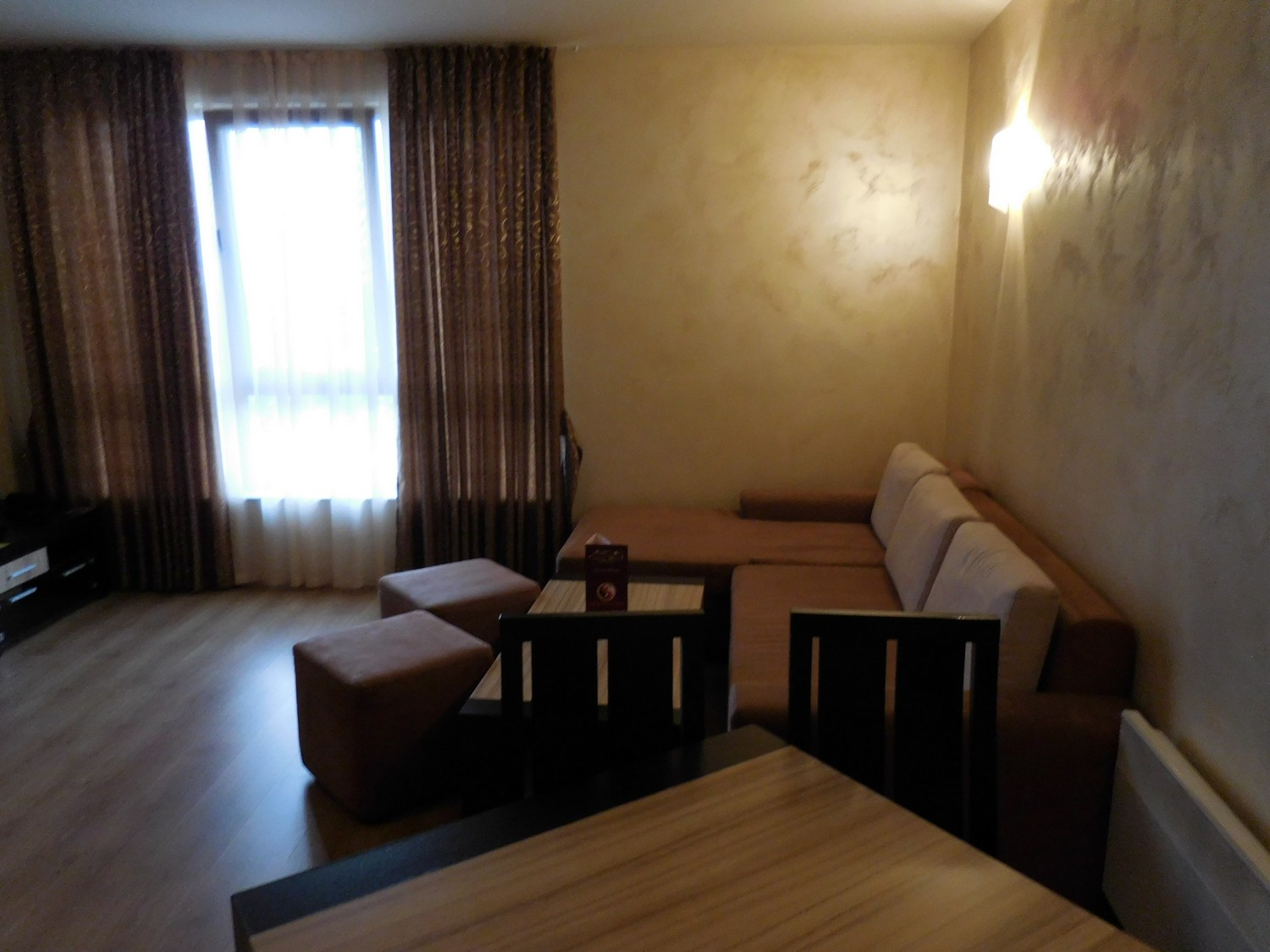 Green Wood Hotel & SPA, Bansko, Bulgaria, Room Inside, Couch and Table