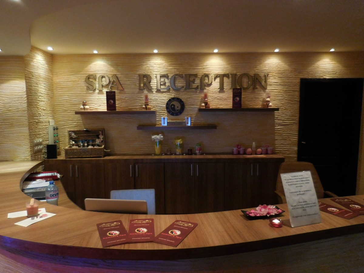 Green Wood Hotel & SPA, Bansko, Bulgaria, Spa Reception, Welcome