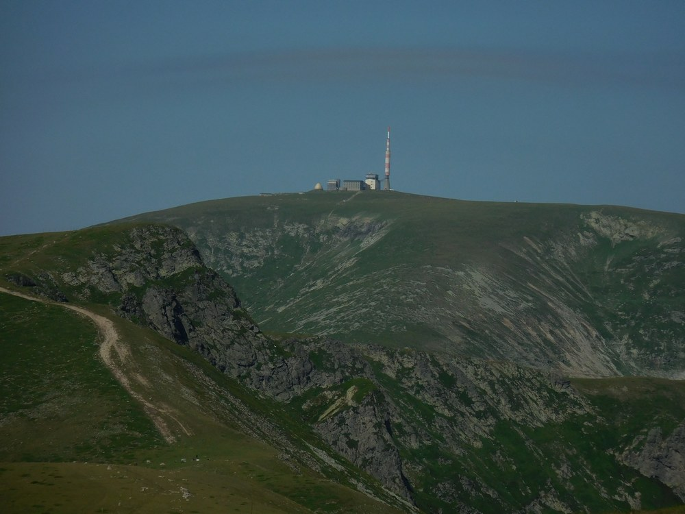 On the Footsteps of Vassil Levski, Hike in the Mountains, Bulgaria, Botev Peak, Highest Peak, from Distance