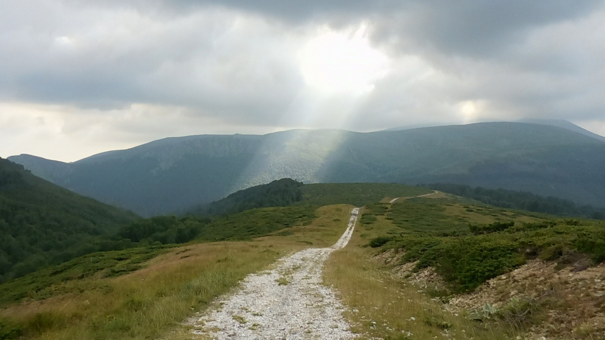 On the Footsteps of Vassil Levski, Hike in the Mountains, Bulgaria, Gods Coming to Earth, Clouds, Sky
