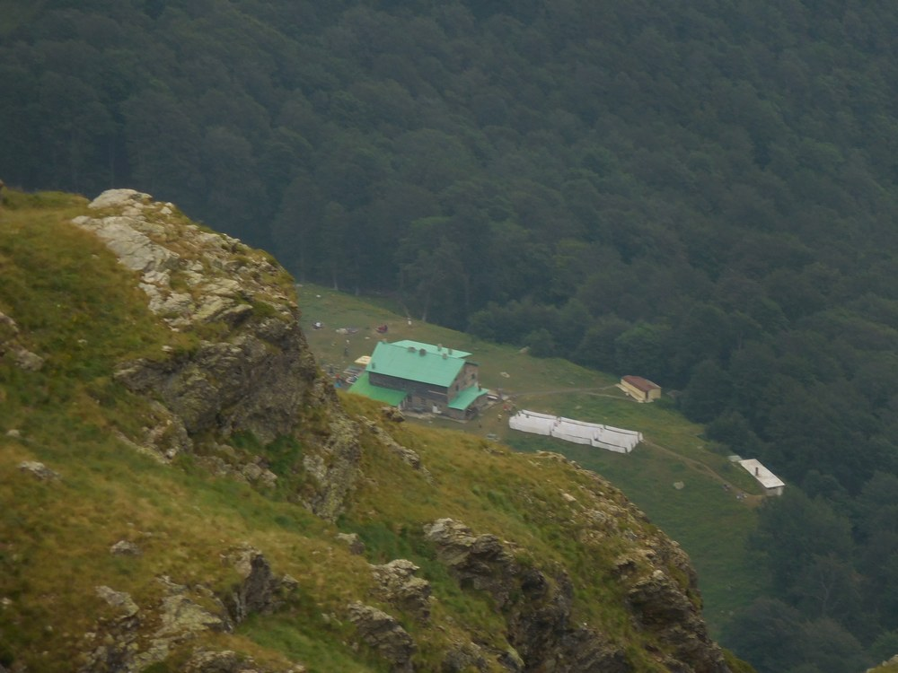The Heaven Hut as seen from above. The hut's name
