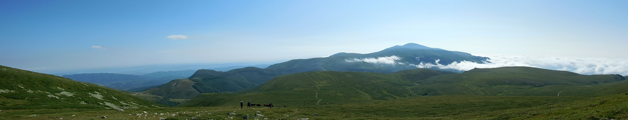 On the Footsteps of Vassil Levski, Hike in the Mountains, Bulgaria, Mesmerising Panorama on the Way to Botev