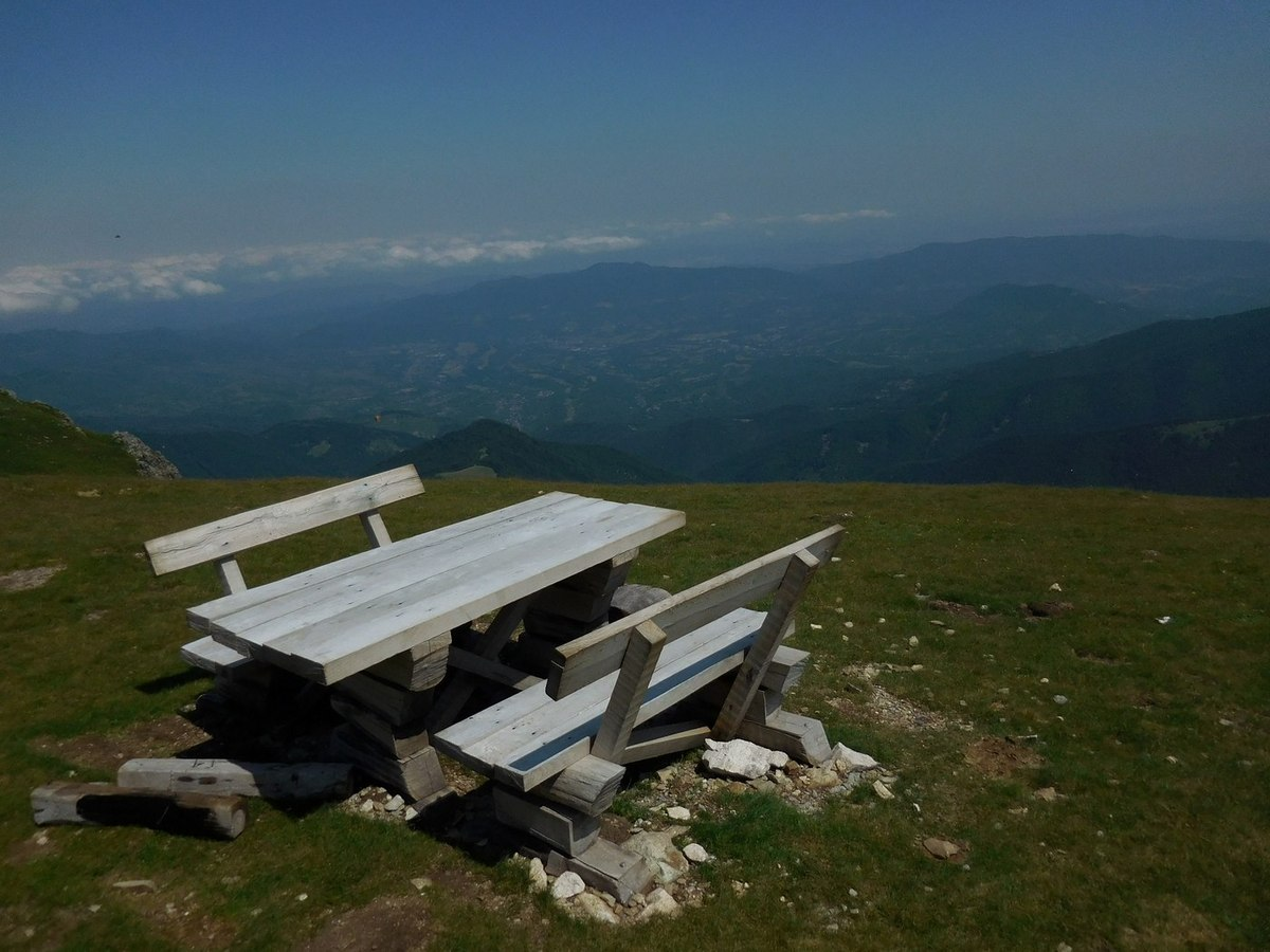 On the Footsteps of Vassil Levski, Hike in the Mountains, Bulgaria, a Million-dollar View near Botev Peak
