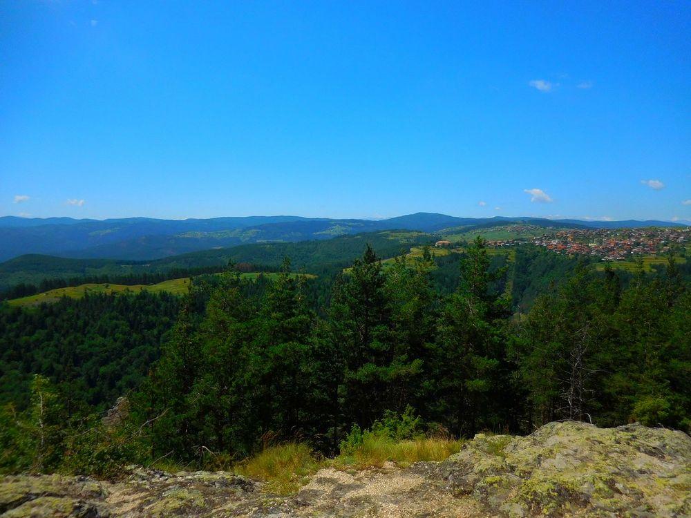 Velingrad, Bulgaria, Pashovi Skali, Pashov's Cliffs, Panorama