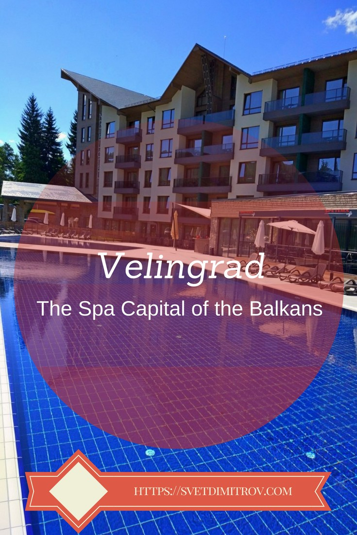 Velingrad in Bulgaria is known as the Spa Capital of the Balkans due to its abundance of hot, mineral springs and gorgeous scenery around.