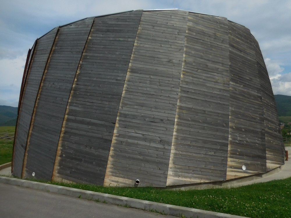 Velingrad, Spa Capital of the Balkans, Dorkovo Museum Outside, Domes Wooden Structure