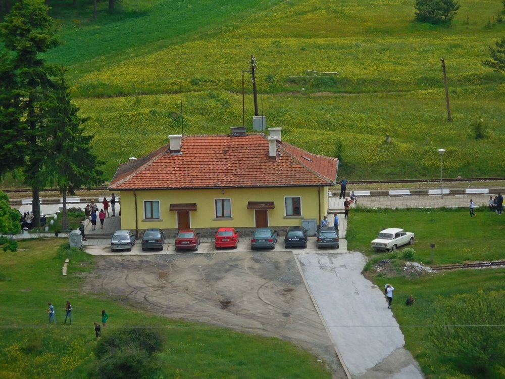 Velingrad, Bulgaria, Spa Capital of the Balkans, Narrow-gauge Railroad, Avramovo Station