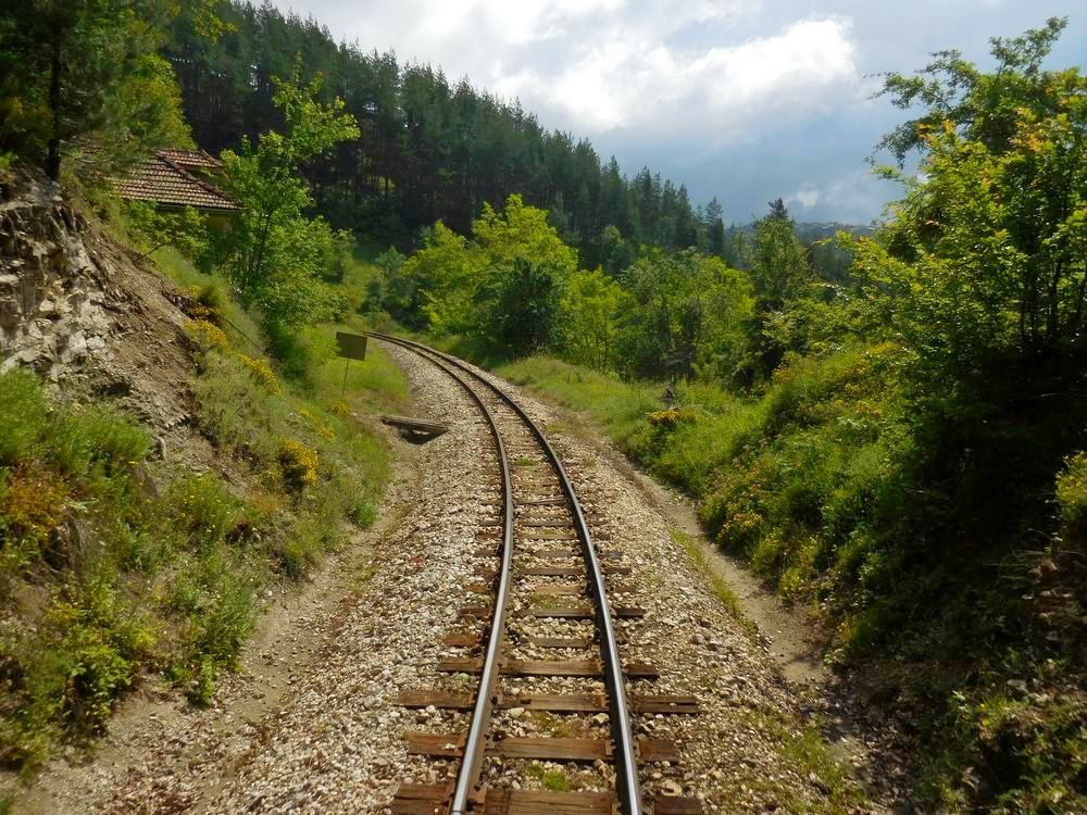 Velingrad, Bulgaria, Spa Capital of the Balkans, Narrow-gauge Railroad, Meandering Rails