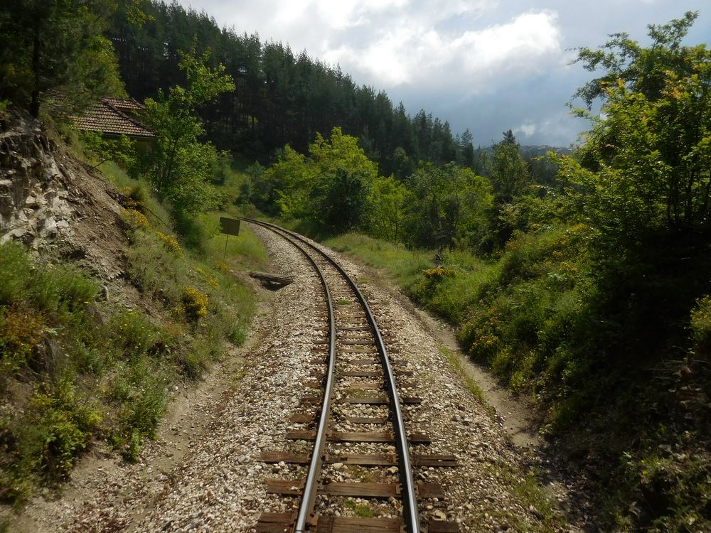 Velingrad, Spa Capital of the Balkans, Narrow-gauge Railroad, Meandering Rails, Bulgaria