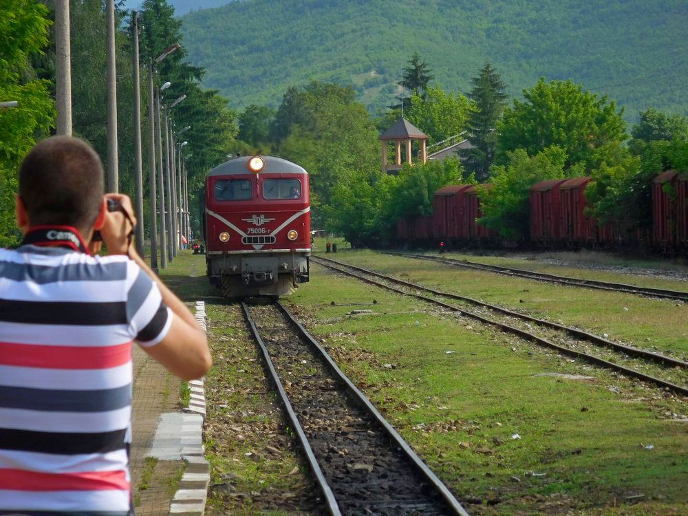 Velingrad, Bulgaria, Spa Capital of the Balkans, Narrow-gauge Railroad, Trainspotting