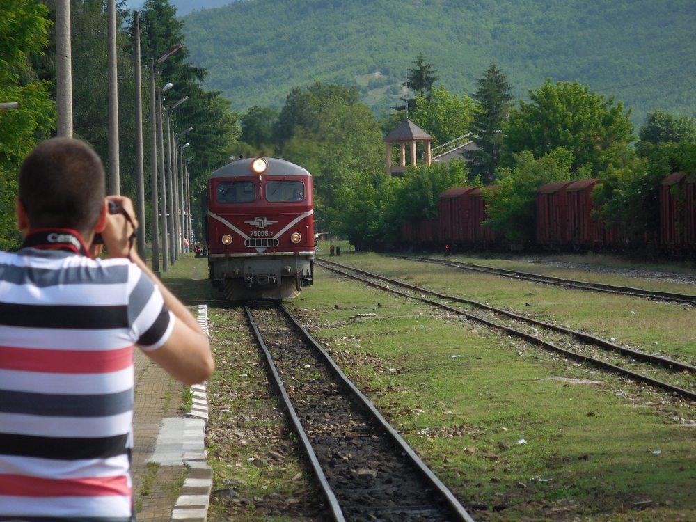 Velingrad, Spa Capital of the Balkans, Narrow-gauge Railroad, Trainspotting, Bulgaria