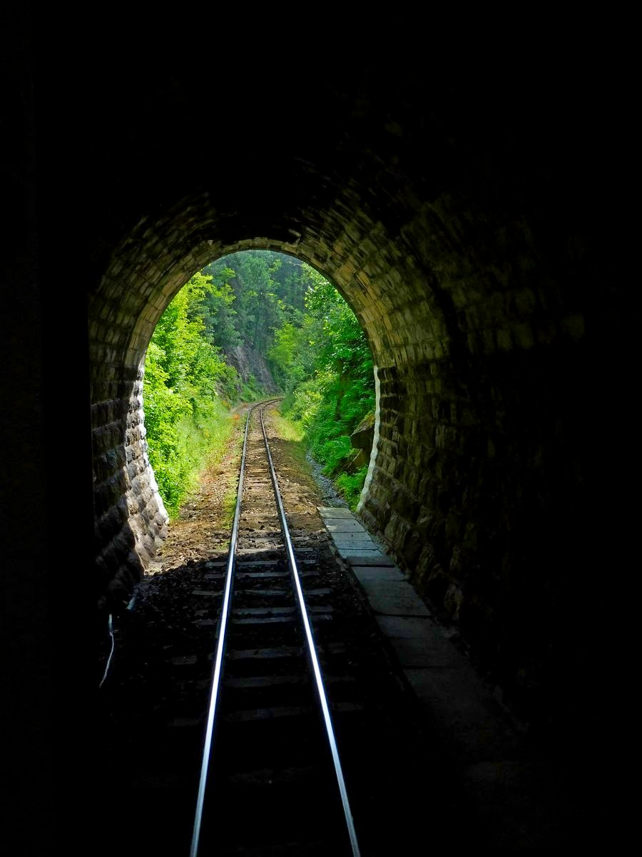 Velingrad, Bulgaria, Spa Capital of the Balkans, Narrow-gauge Railroad, Tunnel Photo