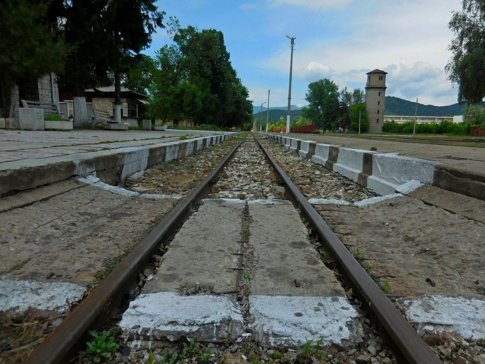 Velingrad, Bulgaria, Spa Capital of the Balkans, Narrow-gauge Railroad, Velingrad Station