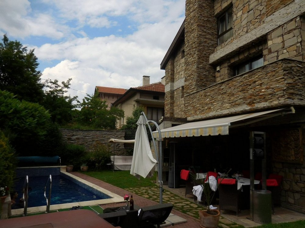 Velingrad, Spa Capital of the Balkans, Villa Vuchev, Pool, Bulgaria