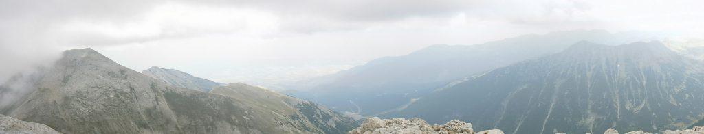 Pirin Mountains, Bulgaria, Stupefying Panorama 1, Kutelo-Todorka Peaks