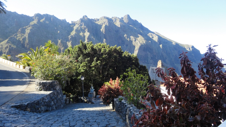 Tenerife, the Island of Eternal Spring, Entering Masca Village, Buenavista