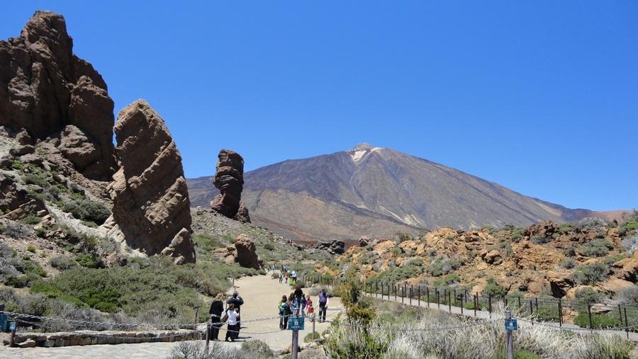 Tenerife, the Island of Eternal Spring, Parque Nacional del Teide, El Teide, Mesmerising Park View