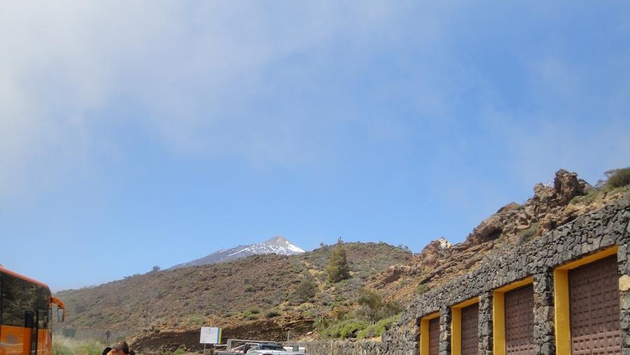 Tenerife, the Island of Eternal Spring, Parque Nacional del Teide, Pico del Teide in the Distance