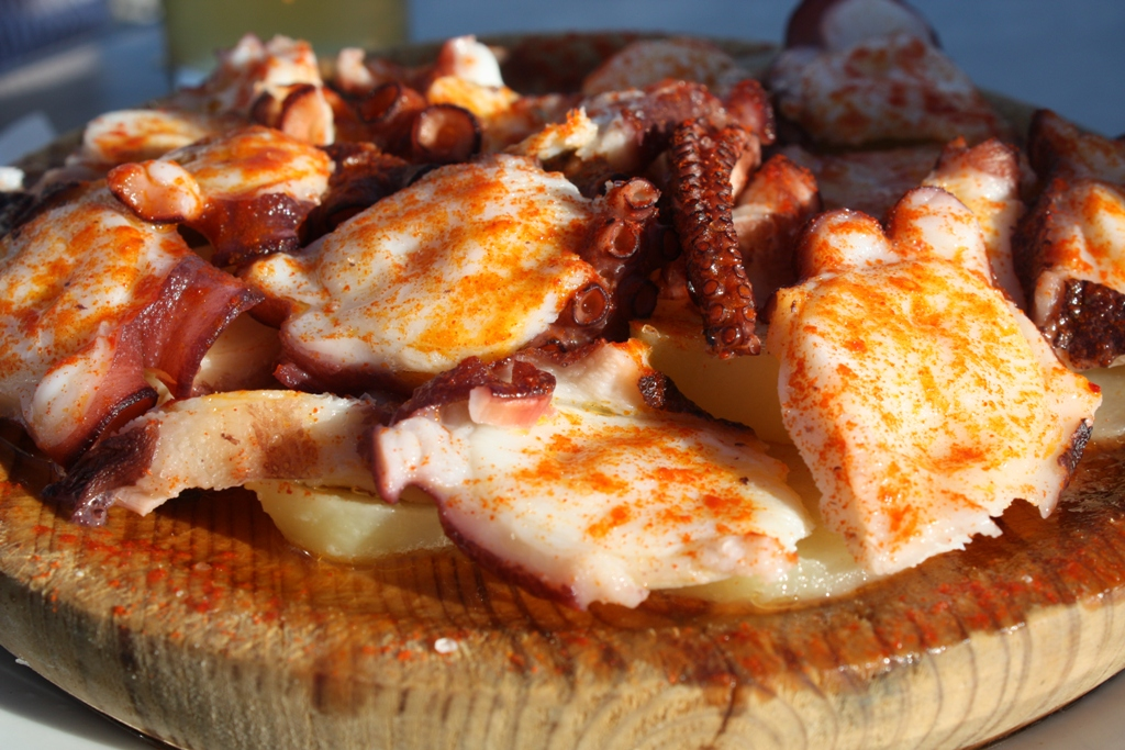 Tenerife, the Island of Eternal Spring, Pulpo a la gallega, Galician Octopus, Wikimedia