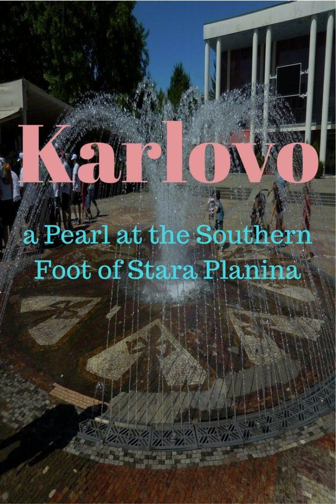 Karlovo, Bulgaria, Rose Fountains, Close Shot, Pinterest Image