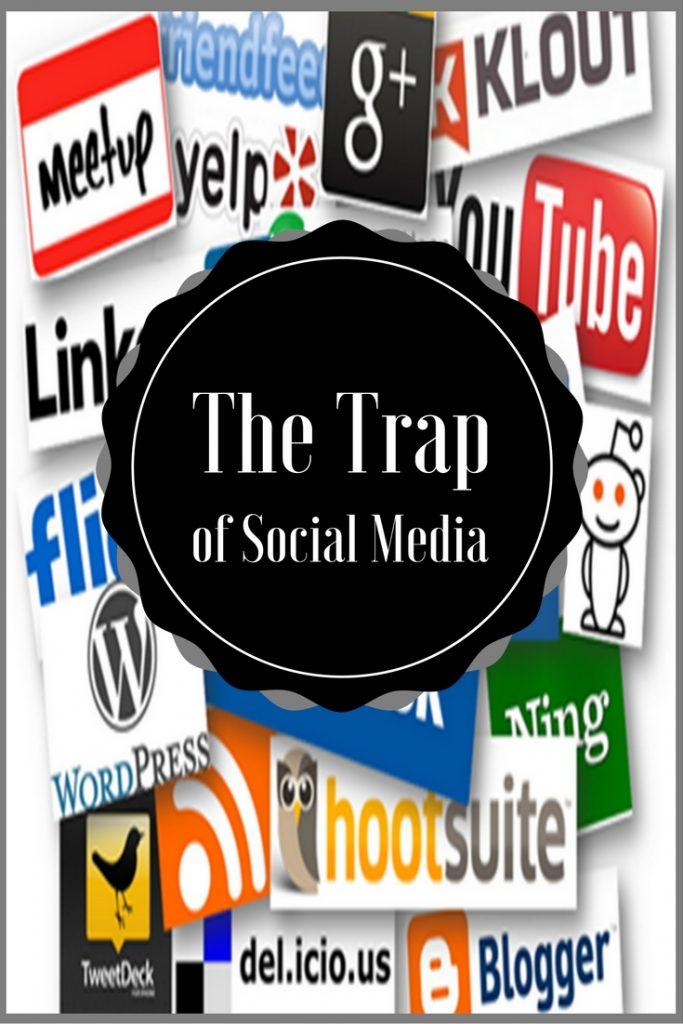 The Trap of Social Media, Pinterest Image, All Social Media