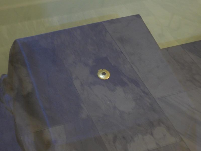 yambol-bulgaria-bezisten-golden-coin-on-display