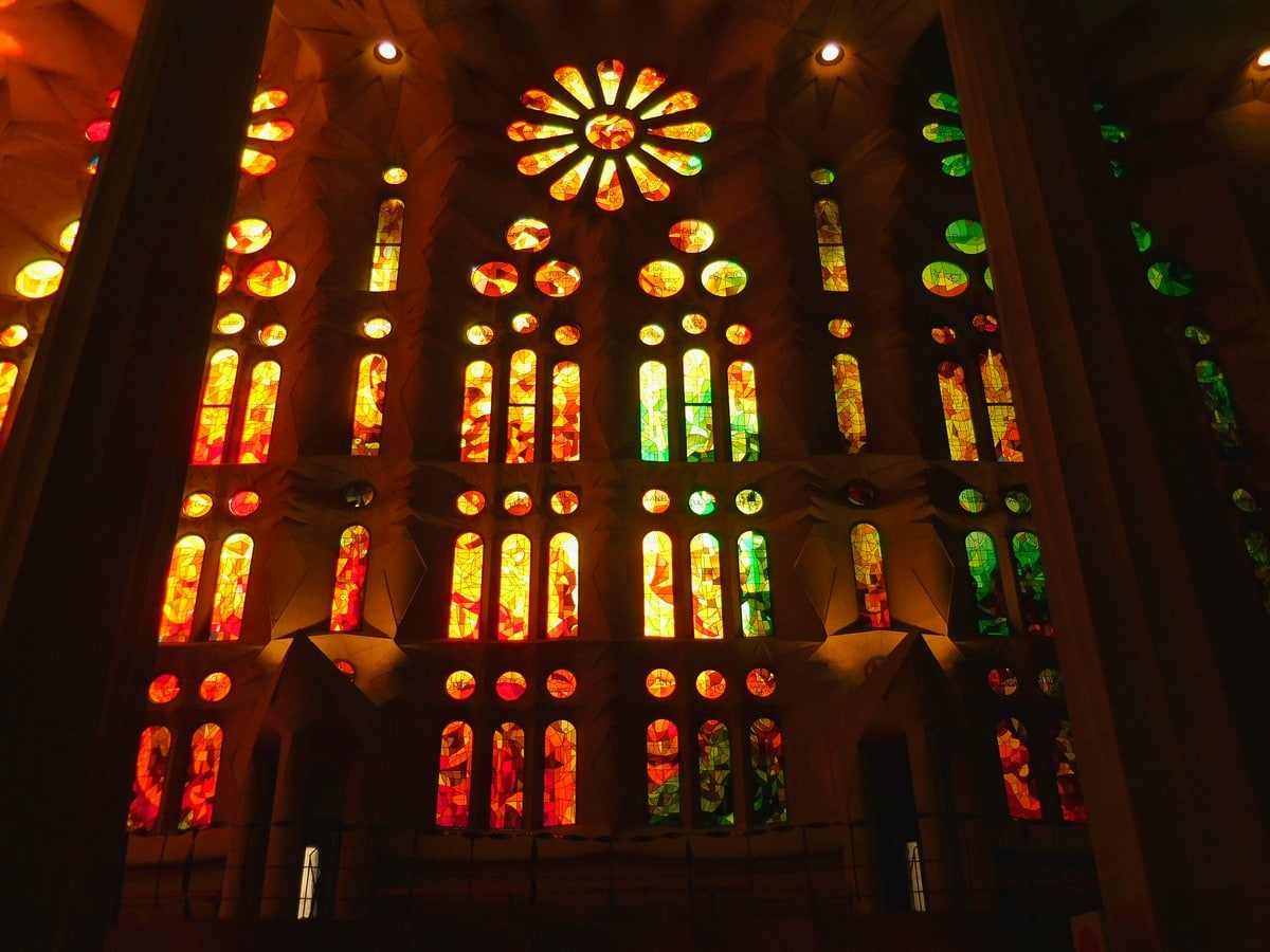 3 Days in Barcelona, Sagrada Familia Jaw-Dropping Interior