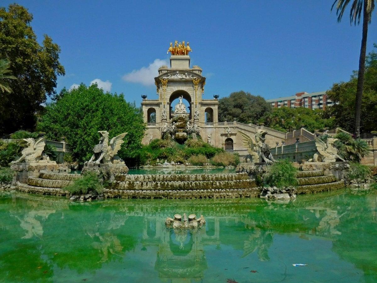 Parc de Ciutadella, Barcelona, Spain