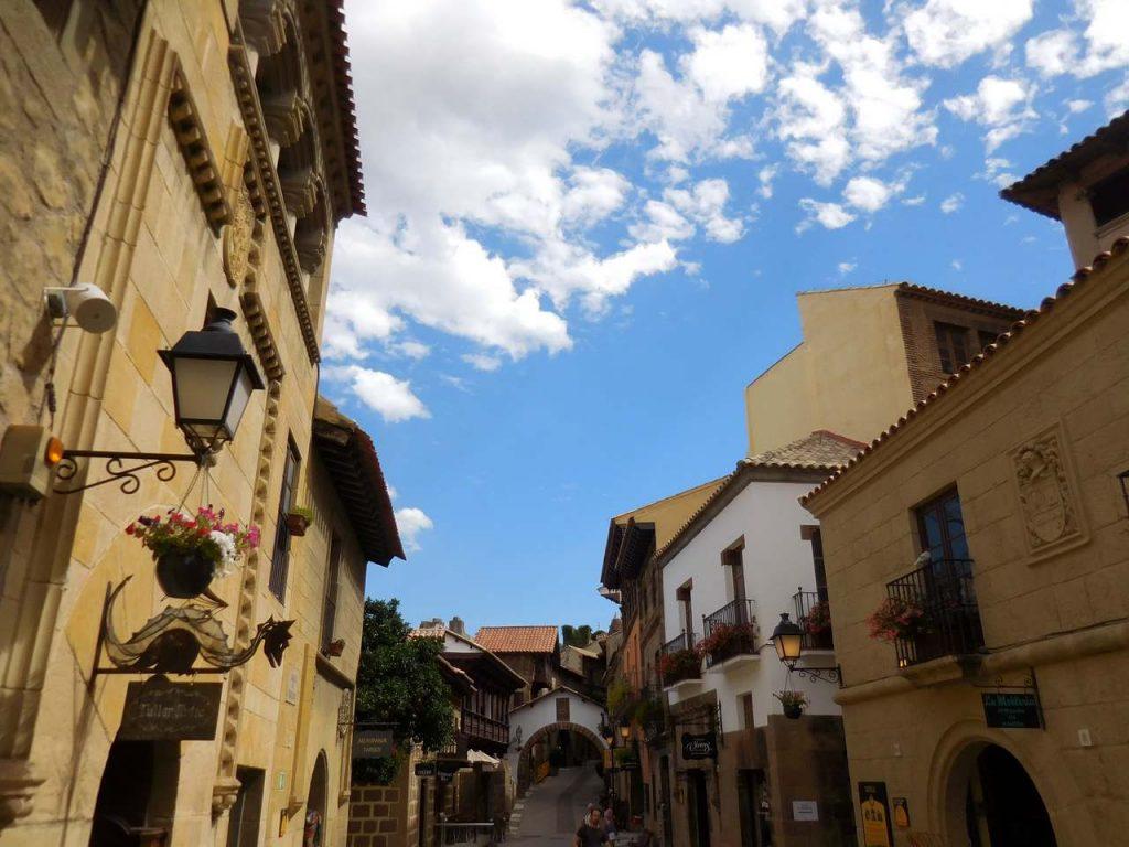 barcelona-spain-poble-espanyol-interior