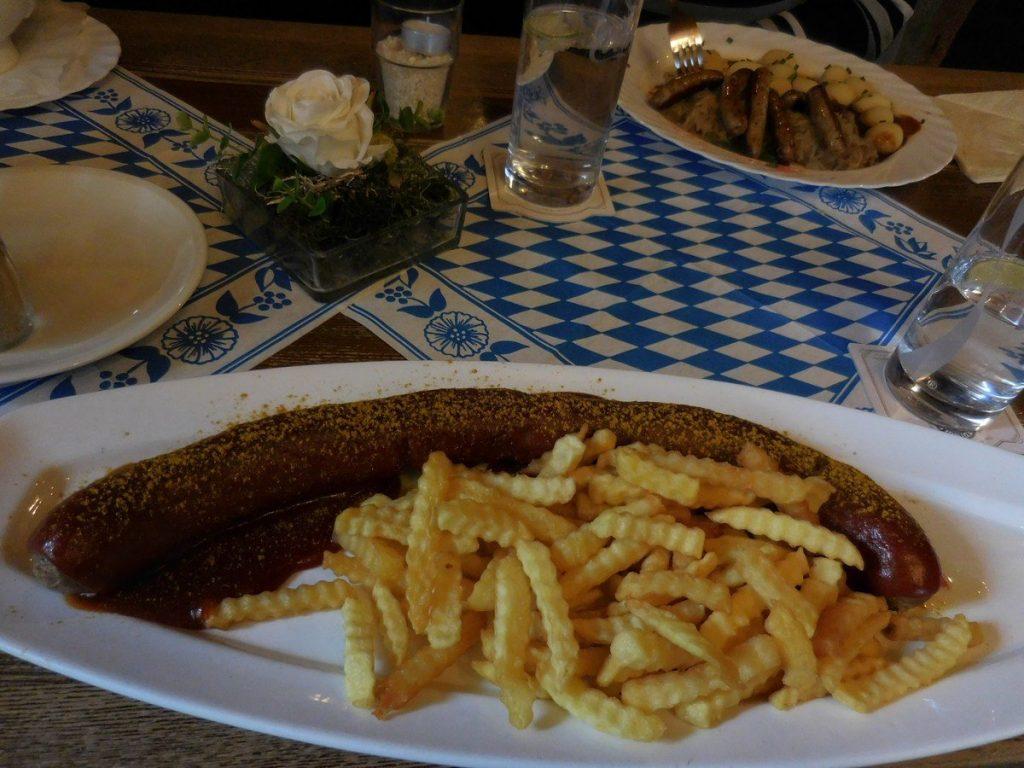 kassel-hesse-germany-koemodien-stadl-gigantic-currywurst-
