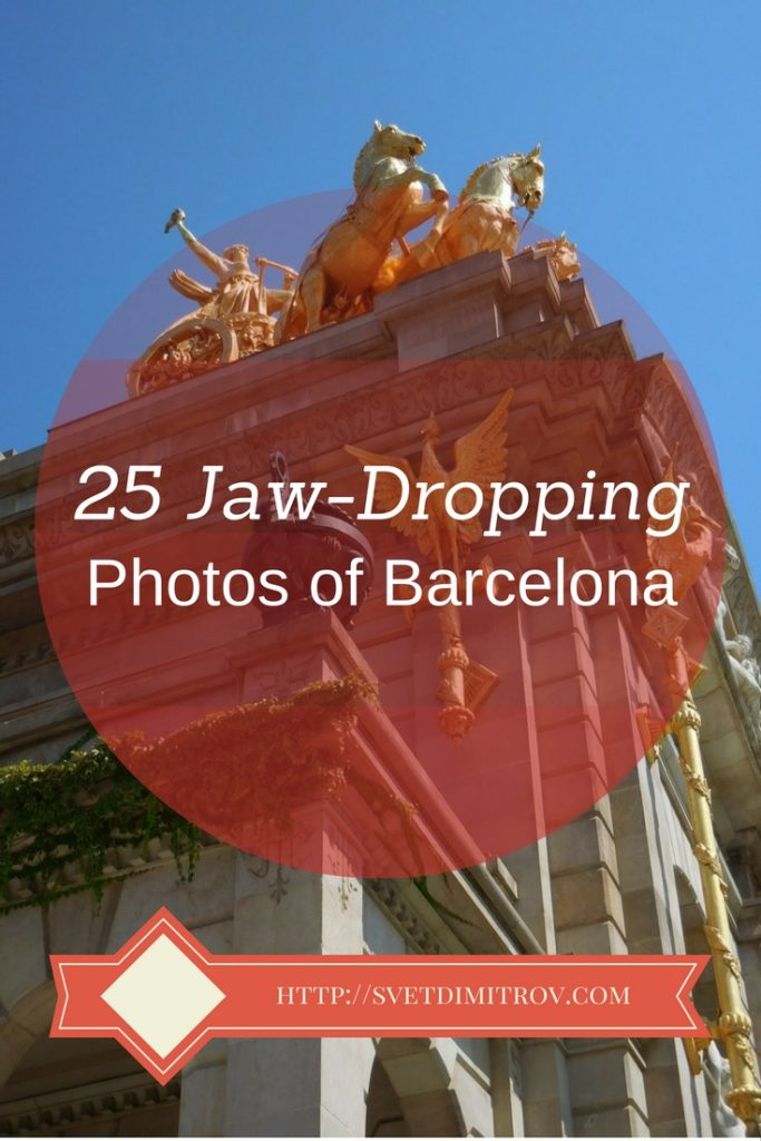 This is a collection of 25 jaw-dropping photos of Barcelona. Prepare to be enthralled.