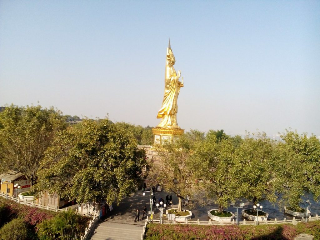 Lotus hill resort-china-view-kwan-yin-statue-pavilion
