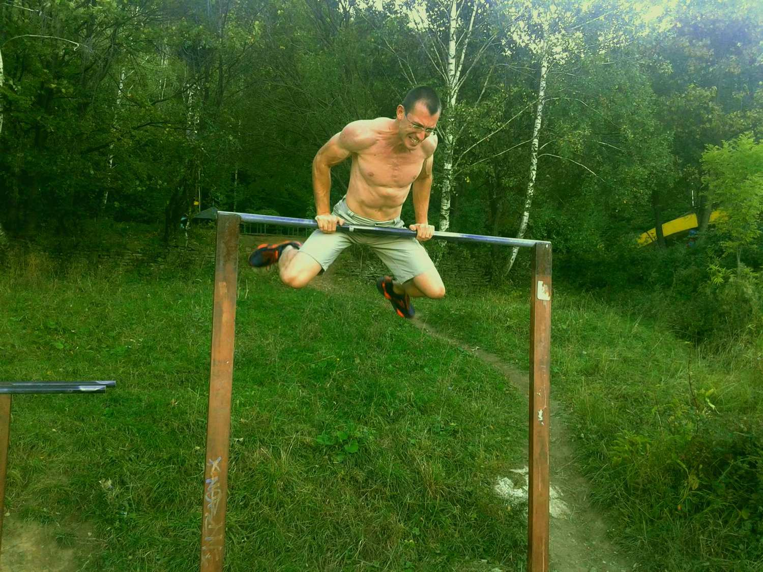 invest in yourself, svet dimitrov, bulgaria, working out, bars, vitosha mountaint