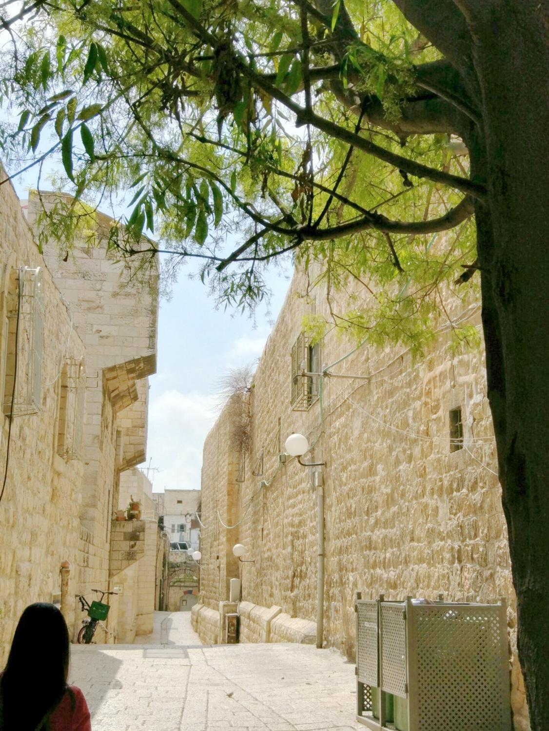 History of Jerusalem, armenian quarter, street view