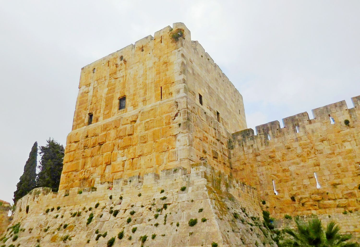 History of Jerusalem, layers of history, old city, tower
