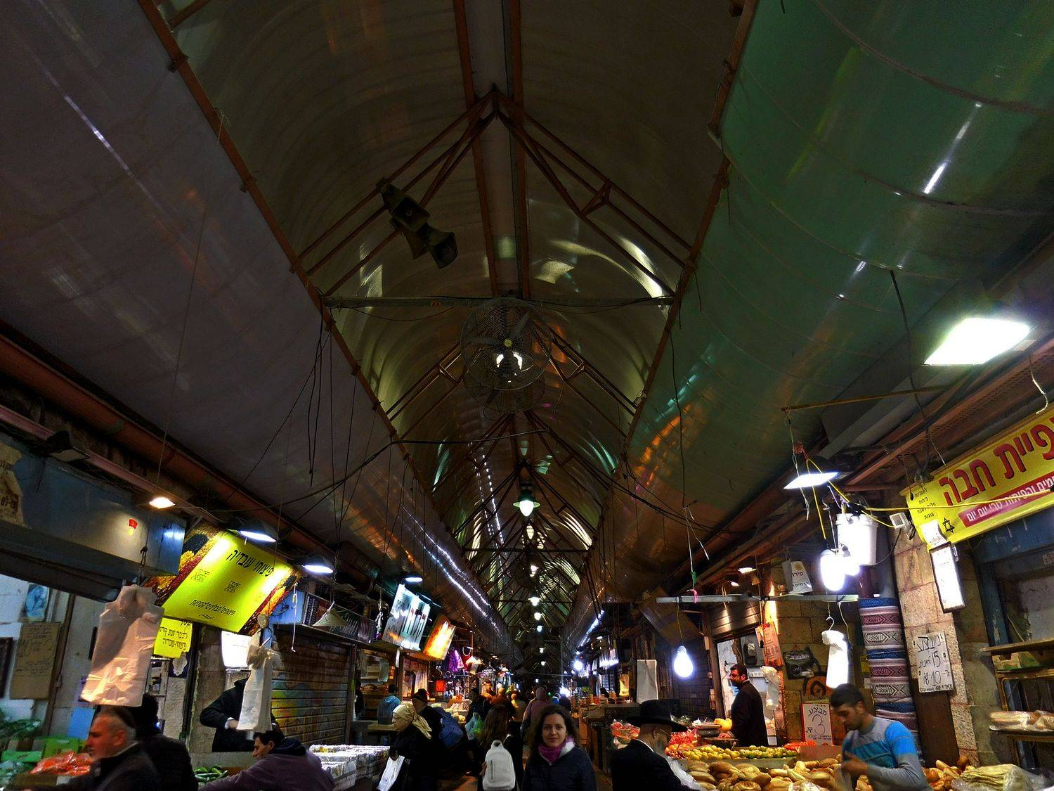 History of Jerusalem, market. night time