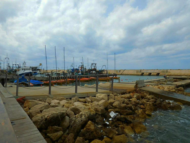 old jaffa port, tel aviv, israel