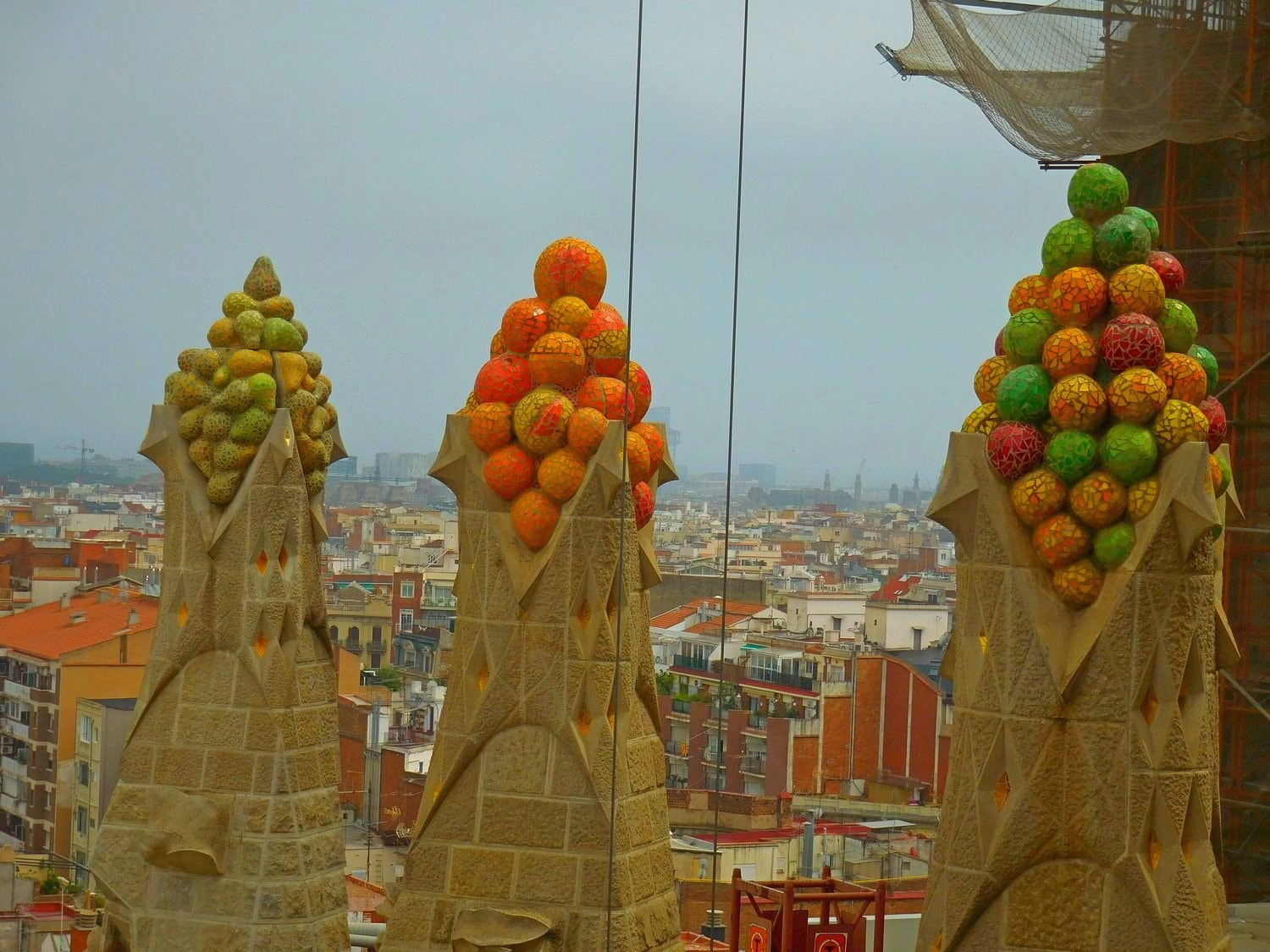 Sagrada Familia, Barcelona, Exterior, Nativity Tower View