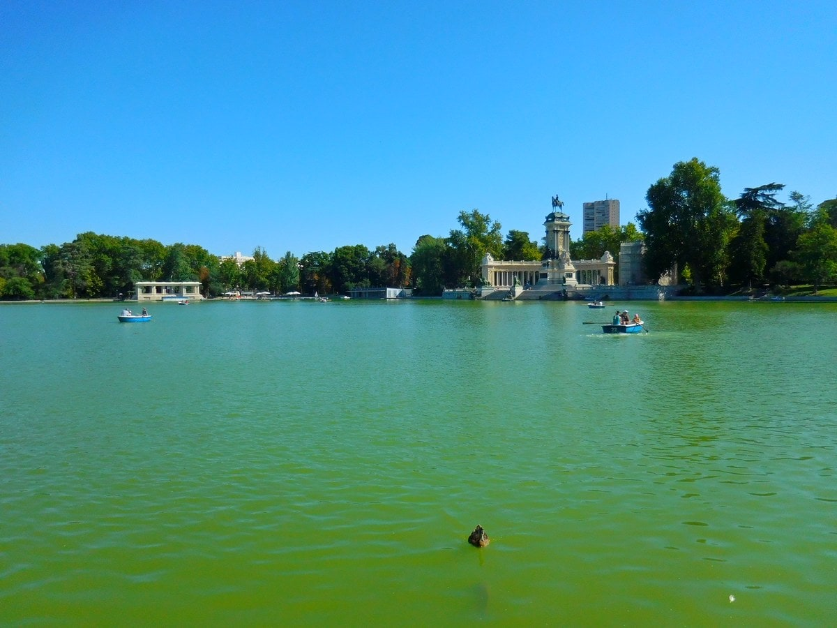 Madrid, Spain, El Retiro, Emerald Pond