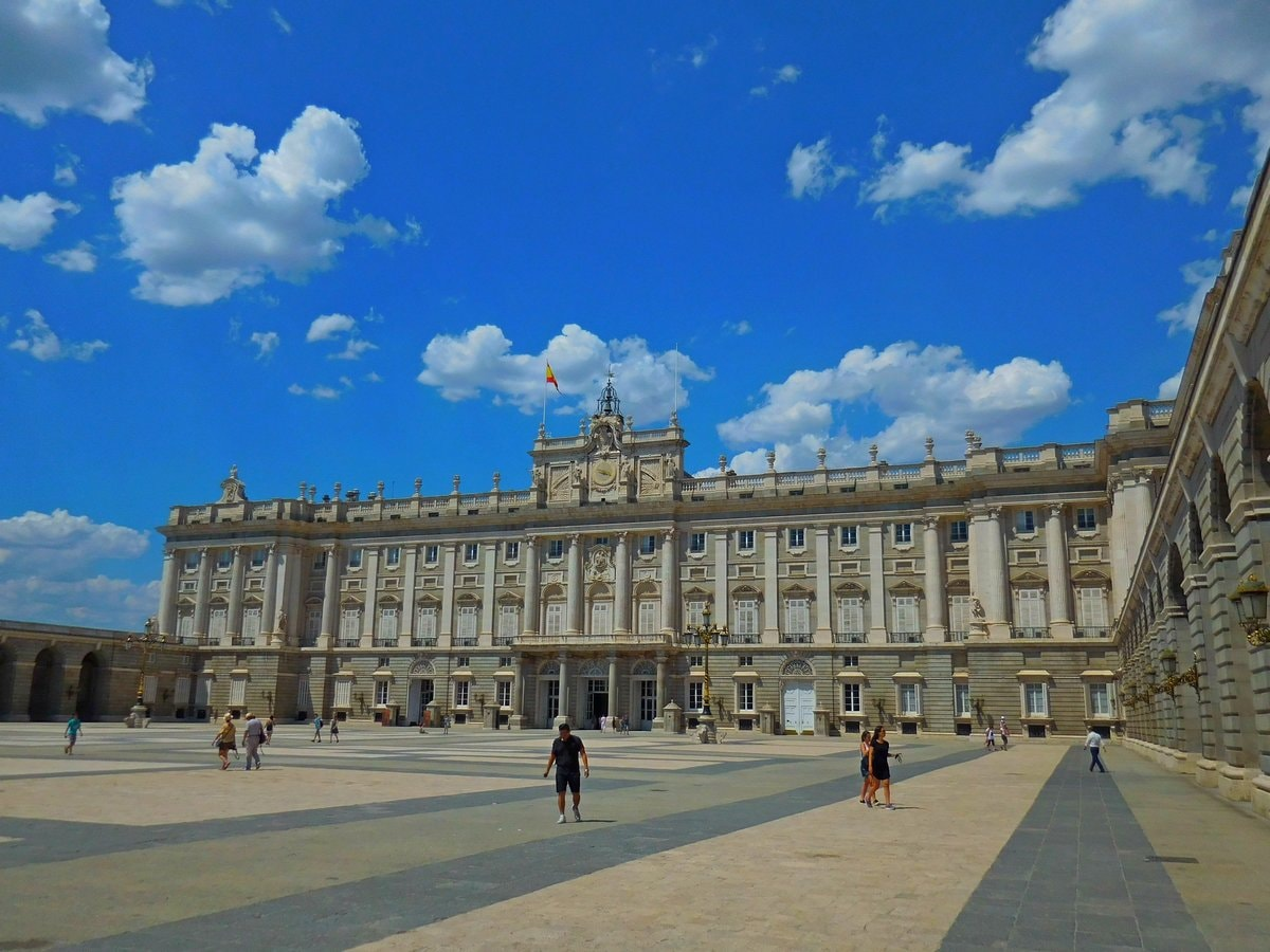 Madrid, Spain, Royal Palace, Exterior