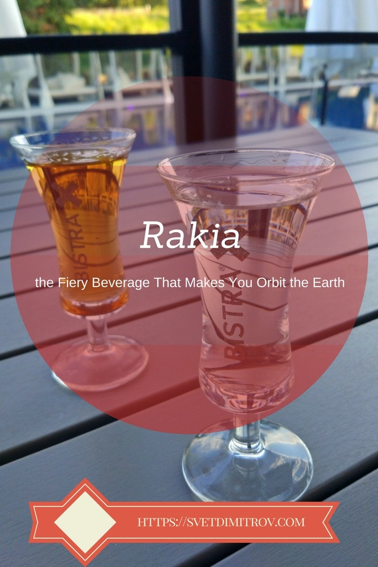 Rakia, Pinterest Image, Velingrad, Spa Capital of the Balkans, Bulgaria