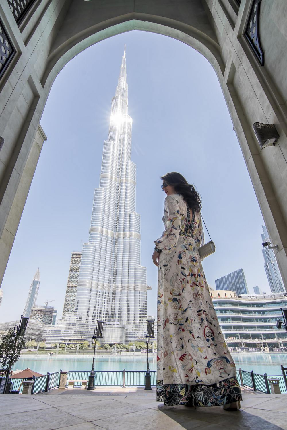 Young Entrepreneurs Talk, Luminita Jones, Dubai, UAE, Burj Khalifa