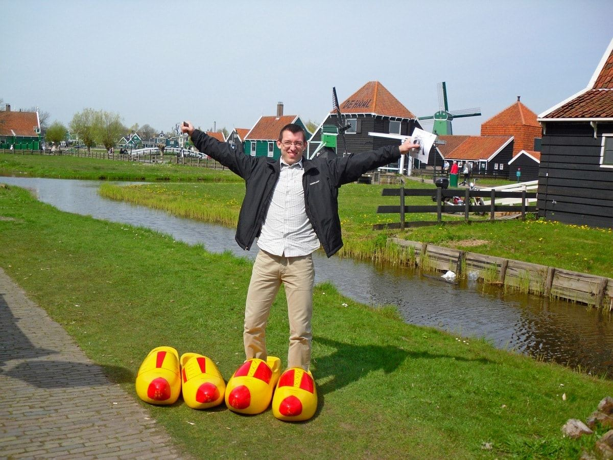 Zaanse Schans, the Netherlands, Svet, Gigantic Clogs